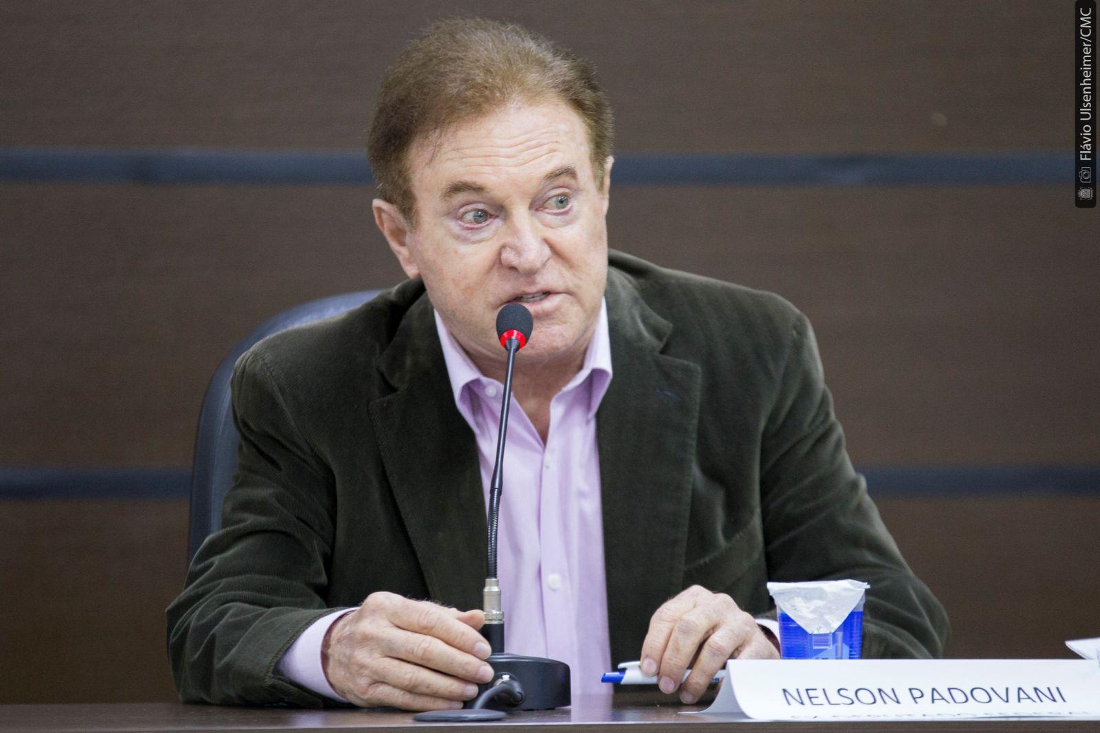 Ex-deputado Nelson Padovani
