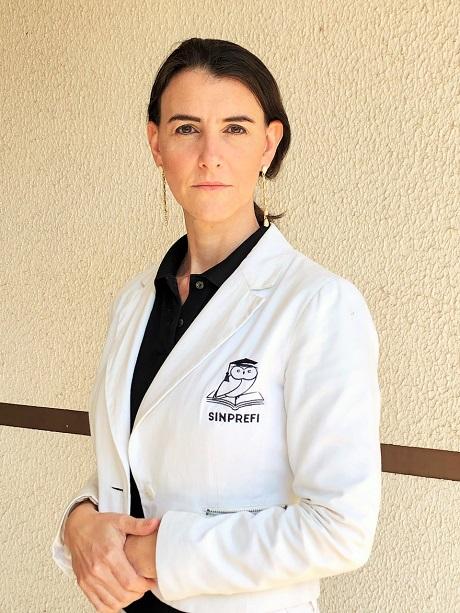 Marli Maraschin de Queiroz, presidente do SINPREFI