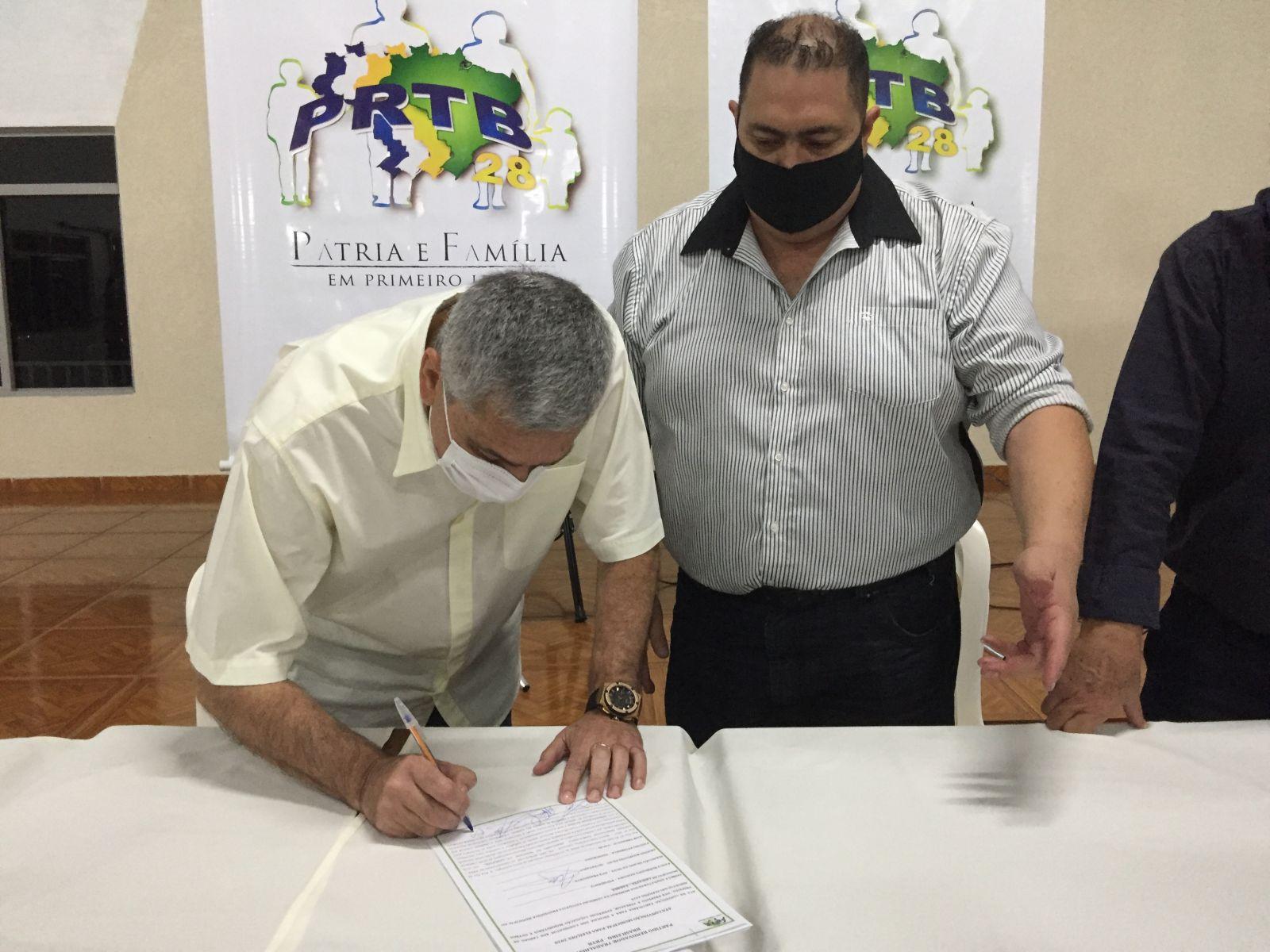 Homologação da candidatura a vice-prefeito