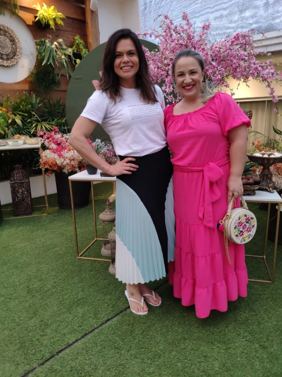 Lisandra Poglia e Letícia Fabian