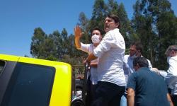 Elcio Jaime da Luz comemora o sabor da vitória nas eleições em Quedas do Iguaçu