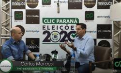Entrevista com Carlos Moraes, pré-candidato a prefeito de Cascavel pelo partido (Avante)