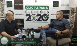 Entrevista com Deputado Roman, pré-candidato a prefeito de Cascavel pelo partido (Patriota)