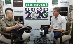 Entrevista com Paranhos, pré-candidato à reeleição para prefeito de Cascavel, pelo partido (PSC)