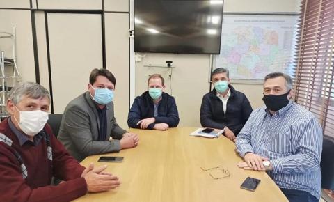 Prefeito Elcio Jaime anuncia acordo com Governo do Estado para a retomada das obras do Hospital de Quedas do Iguaçu