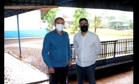 Prefeito Beto Lunitti visita Comunidade Terapêutica Beit Abba