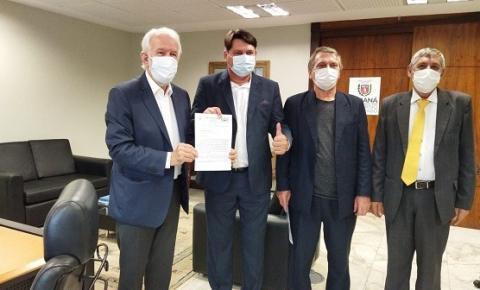 Prefeito Elcio Jaime formaliza pedido ao vice-governador Darci Piana, para instalação de uma unidade do SESC/SENAC