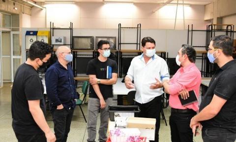 PREFEITO DE QUEDAS DO IGUAÇU ELCIO JAIME PRIORIZA PARCERIAS COM IFPR